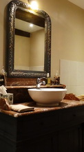 Chambre Belle charolaise salle de bains