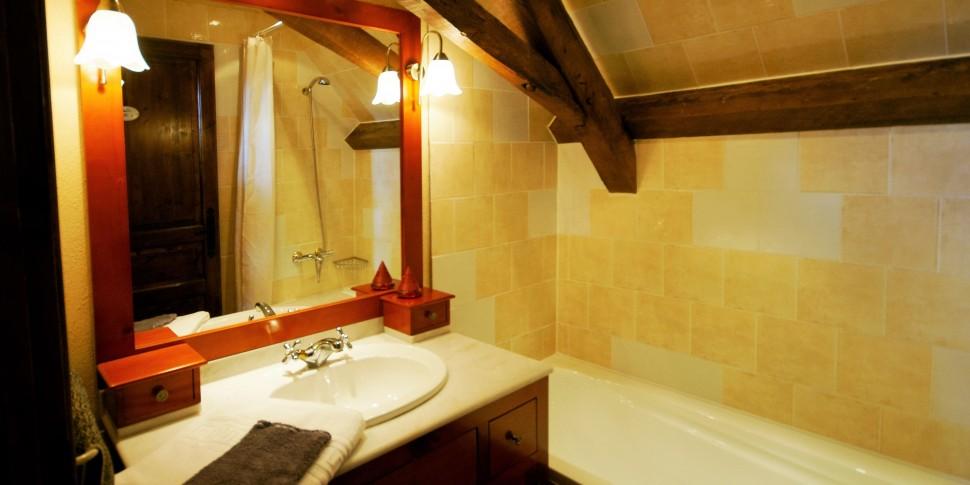 Triple, Salle de bains