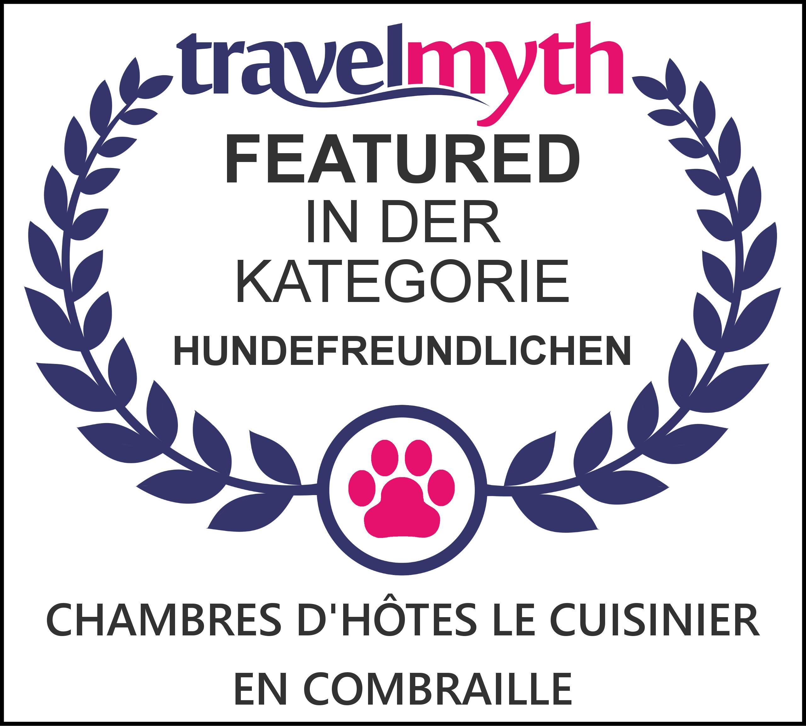 TravelMyth Dog Friendly Certificate